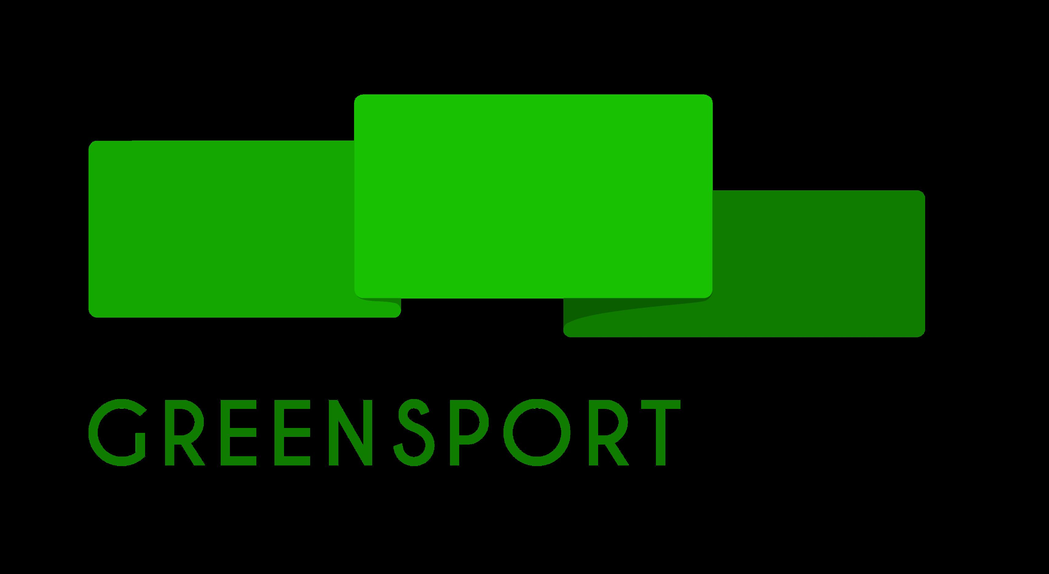 GREEN SPORT FLAG